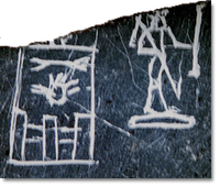 Fragment with the Horus Name of Horus Anedjib