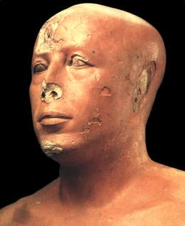 Head of a statue of Ankhaf.