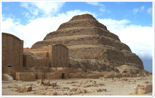 he Step Pyramid of Netjerikhet is the oldest known building to be completely made of stone.