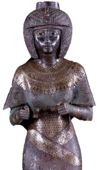 Statue of Queen Karomama, wife of 22nd Dynasty King Osorkon II.