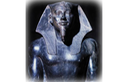 Statue of Khefren and Horus