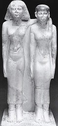 Hetepheres II and her daughter, Meresankh III.