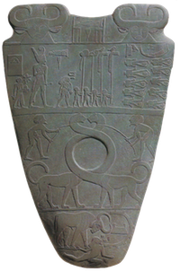 The Narmer Palette is one of the oldest archaeological sources to mention a royal name.