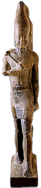 Striding statue of Neferefre.