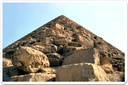 The Red Pyramid owes its modern-day name to the red granite that was used to construct its core.