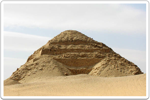 Neferirkare's Pyramid was originally planned as a Step Pyramid, a type of pyramid that had not been in use since the start of the 4th Dynasty, over a century before.