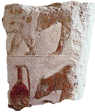 Syrian bears, from Sahure's funerary complex at Abusir.
