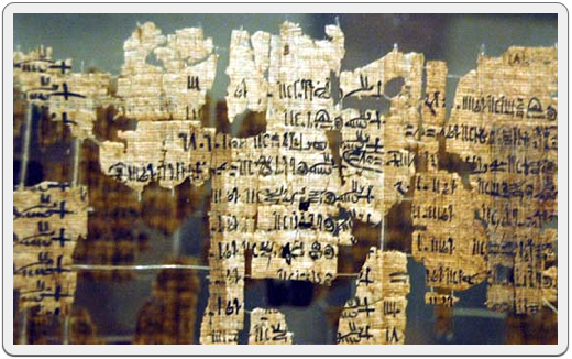 Fragments from the Turin King-List.