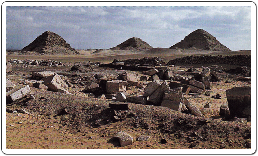 Only very little remains of what once was a unique building, the Solar Temple of Userkaf at Abusir.